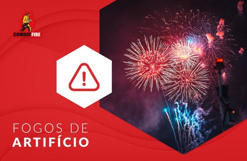 Cuidados com os fogos de artifício nas festas de fim de ano