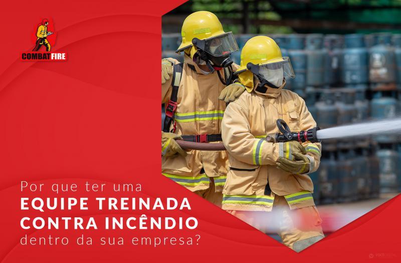 Por que ter uma equipe treinada contra incêndio dentro da sua empresa?