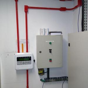 Instalação sistema de alarme incendio