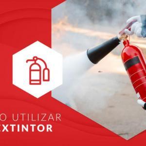 Você sabe como utilizar o extintor de incêndio?